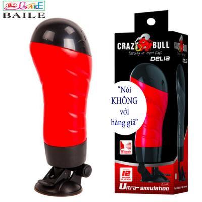 Âm Đạo Gắn Tường Crazy Bull Cao Cấp Rung 12 Chế Độ