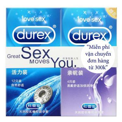 Bao cao su Durex jeans hộp 12 cái cao cấp