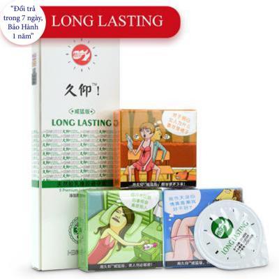 Bao cao su gai LongLasting kéo dài thời gian quan hệ