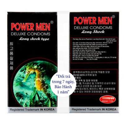 Bao Cao Su Powermen Cá Ngựa (Hộp 12 Cái) giá rẻ
