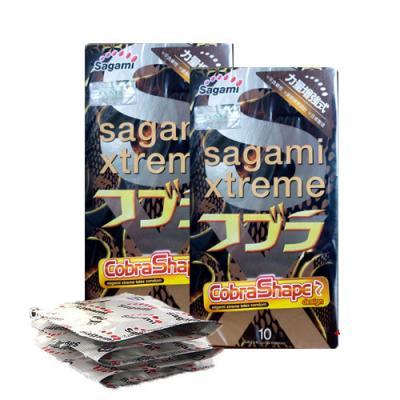 Bao cao su Sagami Xtreme Cobra Shape siêu mỏng