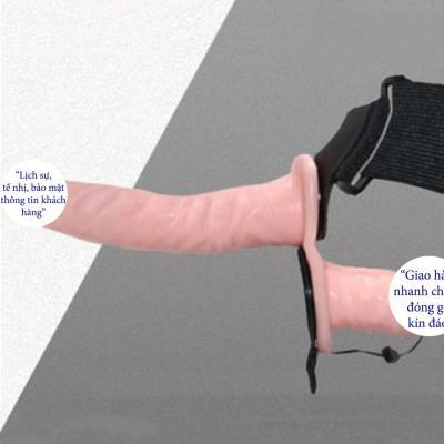 Dương vật giả có dây đeo 2 đầu Ultra cao cấp