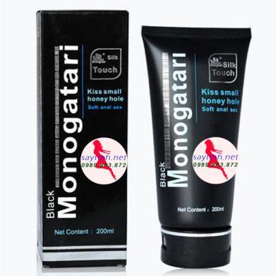 Sản phẩm hỗ trợ G el bôi trơn hậu môn Monogatari Black