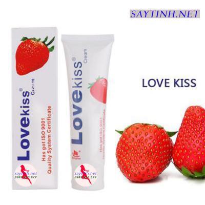 Gel bôi trơn tình dục hương dâu Love Kiss