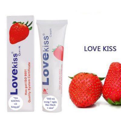 Gel bôi trơn tình dục Lovekiss hương dâu