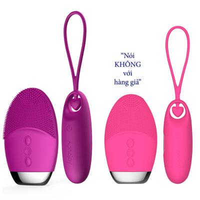 Trứng Rung hai đầu không dây Aphojoy với lưỡi mềm rung 7 chế độ
