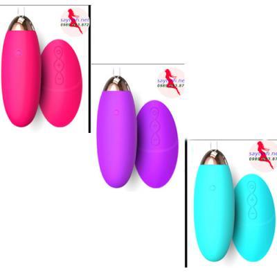 Trứng rung tình yêu không dây Tono rung 10 chế độ