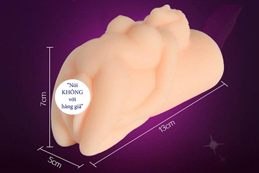 Búp bê tình dục âm đạo giả silicon mini cầm tay cho nam